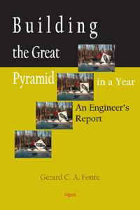 Building the Great Pyramid in a Year .  An Engineer's Report